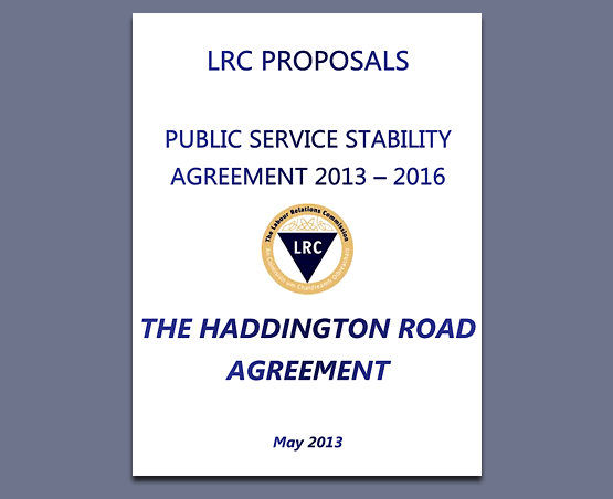 Haddington Road Agreement